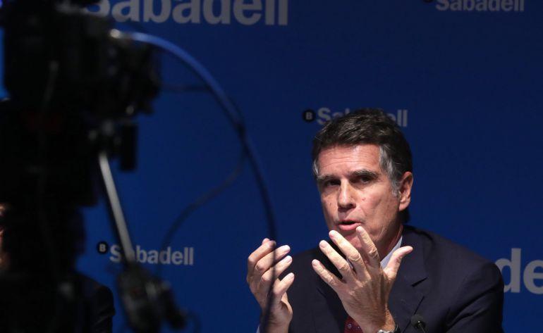 El consejero delegado de Banco Sabadell, Jaime Guardiola.