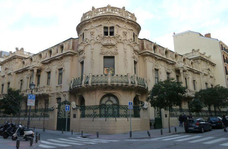 Sede principal de la SGAE en Madrid