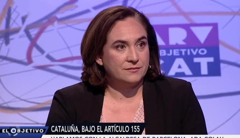 Ada Colau acudió este domingo a 'El objetivo de Ana Pastor'