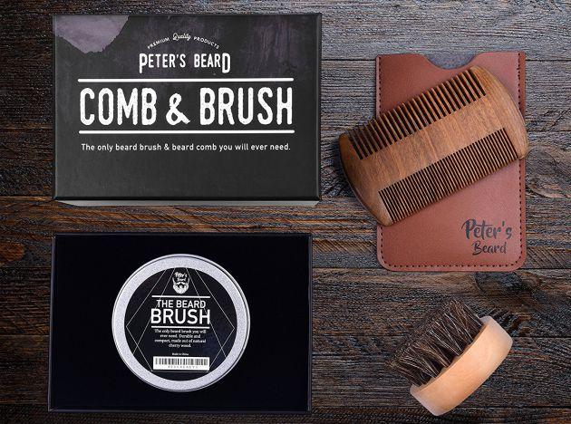 Pack de Peter's Beard para el cuidado de tu bigote.