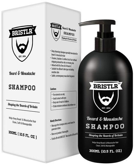 El champú de 300 ml para cuidar tu bigote a diario.