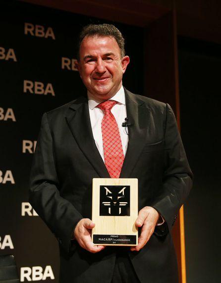 Martín Berasategui, Premio a la Excelencia 2018.