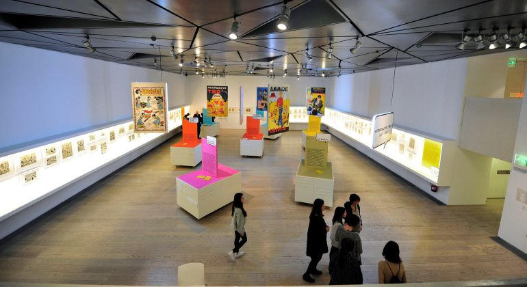 La exposición 'Historietas del Tebeo. 1917-1977' en el Museo ABC de Madrid
