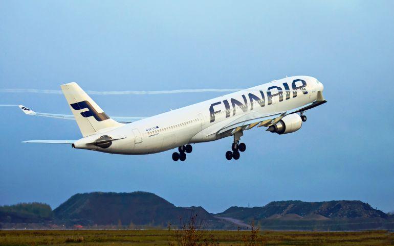 La aerolínea Finnair empieza a pesar a sus pasajeros