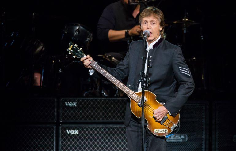 Paul McCartney durante su concierto en Detroit el pasado 1 de octubre