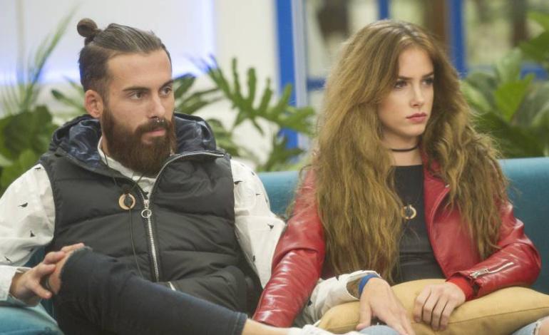 Jose María y Carlota, concursantes de 'Gran Hermano Revolution'