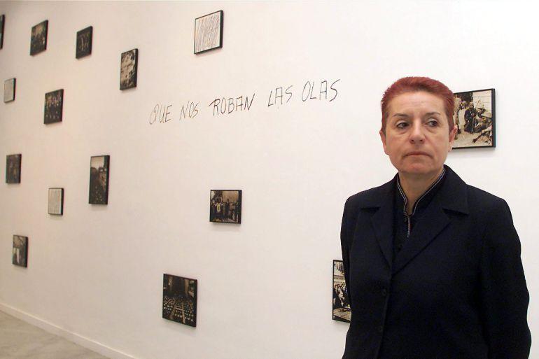 Fotografía de archivo de la artista plástica canaria Concha Jerez que ha obtenido hoy el Premio Velázquez de Artes Plásticas 2017 que concede el Ministerio de Educación, Cultura y Deportes