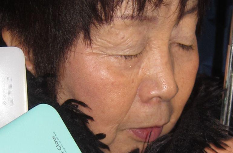 La 'viuda negra de Tokio', Chisako Kakehi, tras ser arrestada