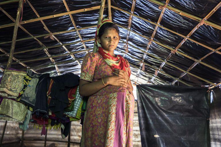 Anjuman, 15 años y embarazada. (Pincha en la foto para ver la galería)