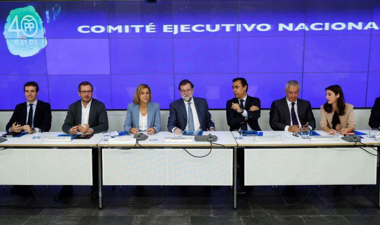 Reunión del Comité Ejecutivo del Partido Popular del pasado día 30 de octubre