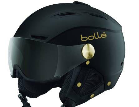 El casco de la firma Bollé es un 2 por 1 fabuloso.