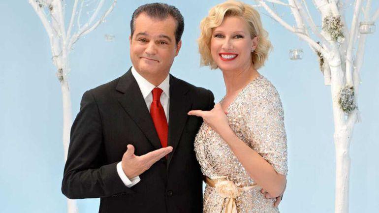 Ramón García y Anne Igartiburu darán las campanadas en TVE en Nochevieja.