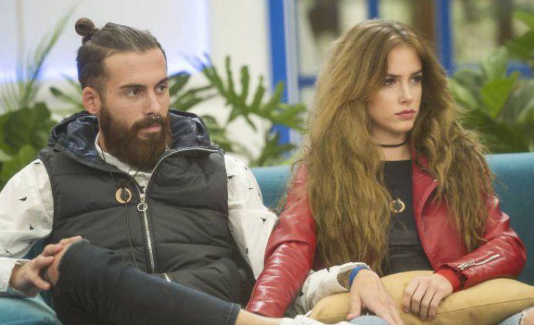 Jose María y Carlota, concursantes de 'Gran Hermano Revolution'.