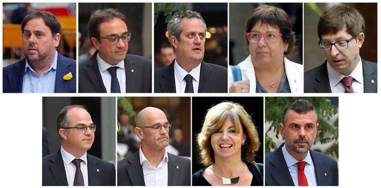 Combo de los exconsellers para los que la juez de la Audiencia Nacional Carmen Lamela ha decretado prisión