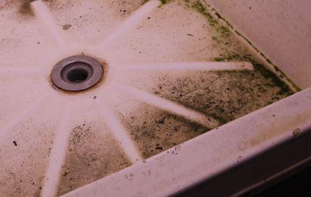 Una de las duchas del centro de detención de Manus.