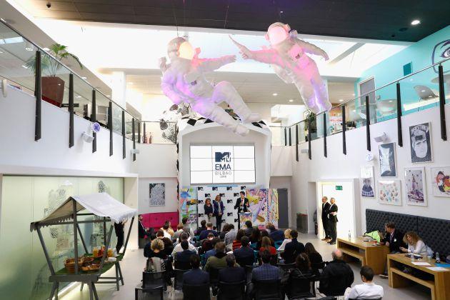 Imagen del acto de presentación de los EMA 2018