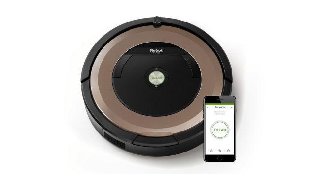 El robot de Roomba es uno de los más eficaces del mercado.