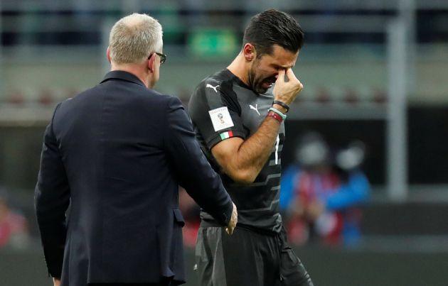 Las lágrimas de Buffon tras quedarse sin Mundial