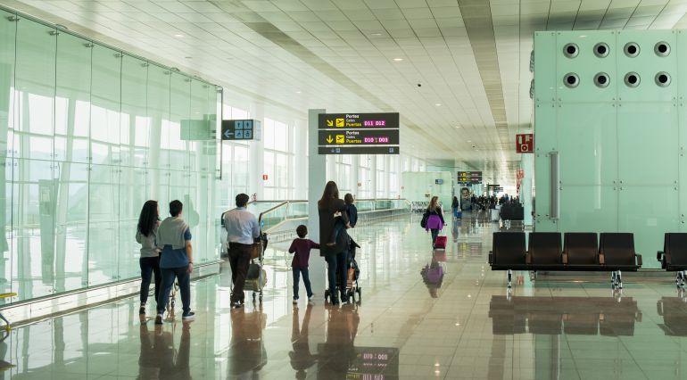 El aeropuerto de El Prat, en Barcelona