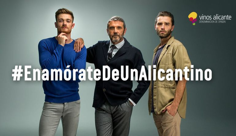 Imagen de la campaña 'Enamórate de un alicantino'.
