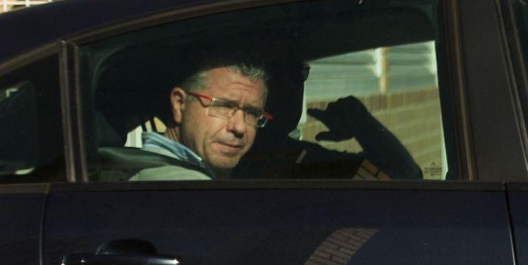 Francisco Granados tras ser detenido