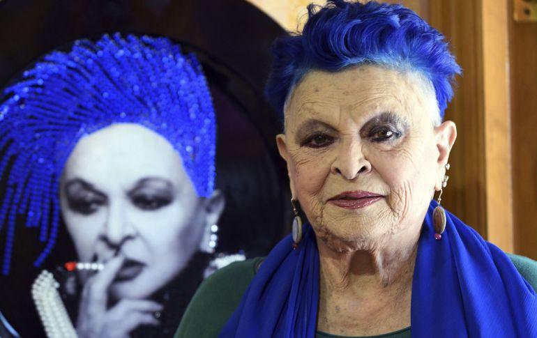 Fotografía de archivo del 30 de julio de 2017 de la actriz italiana Lucía Bosé