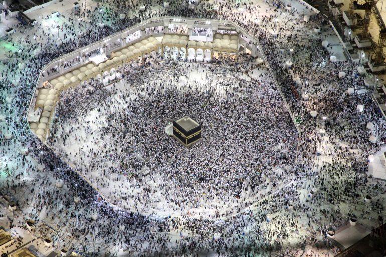 Vista aérea de La Meca