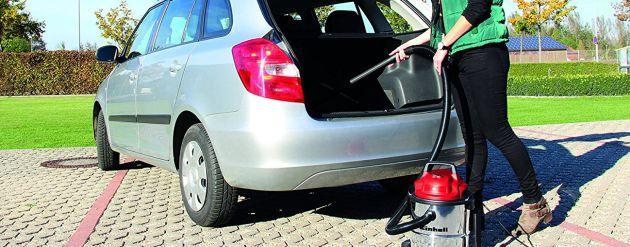 Ideal para limpiar el coche.