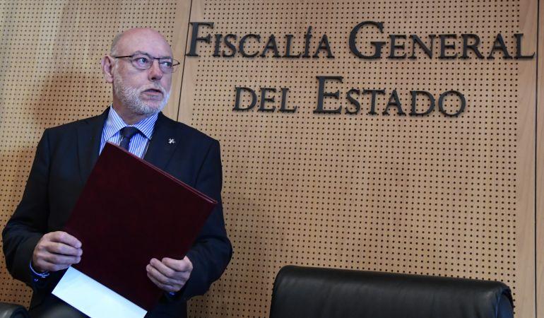 El difunto Fiscal General del Estado, José Manuel Maza.