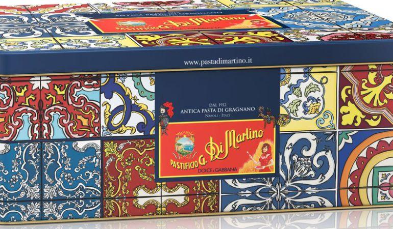 La caja de 'Dolce & Gabanna' para Pastificio Di Martino.
