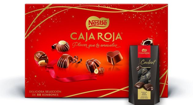 El pack de productos de Nestlé.