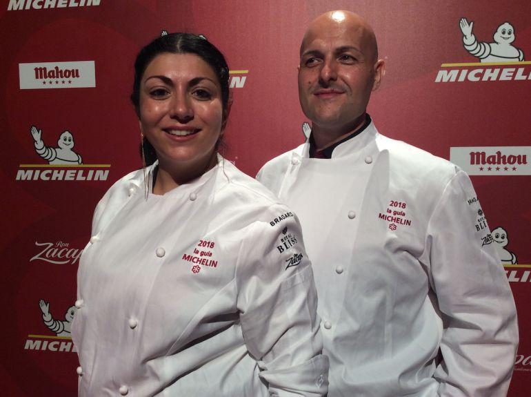 Fernanda Fuentes y Andrea Bernardi, los chefs de Nub.
