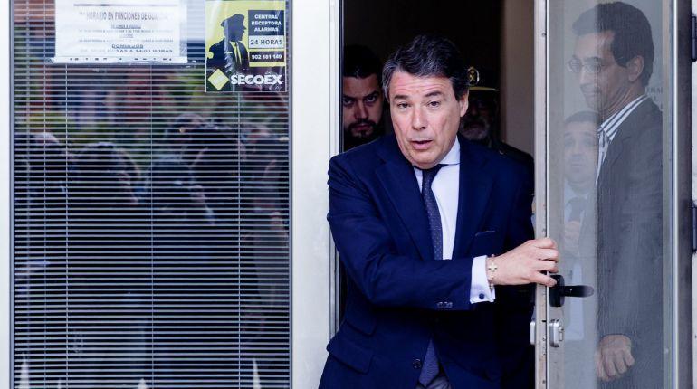 El expresidente de la Comunidad de Madrid Ignacio González, implicado en el caso Lezo