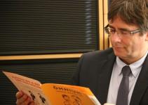 Puigdemont quiere reunirse con Rajoy en Bruselas para sentarse y hablar de política