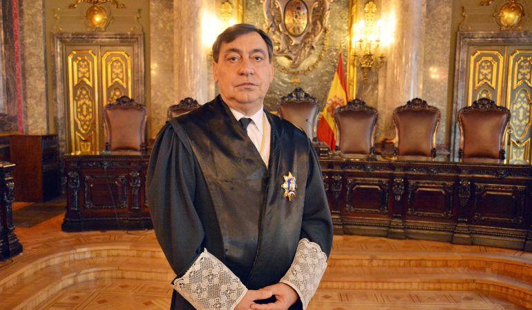 El magistrado Julián Sánchez Melgar