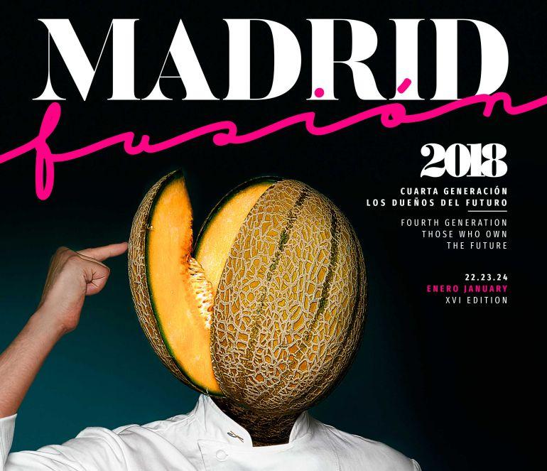 El cartel de Madrid Fusión 2018.