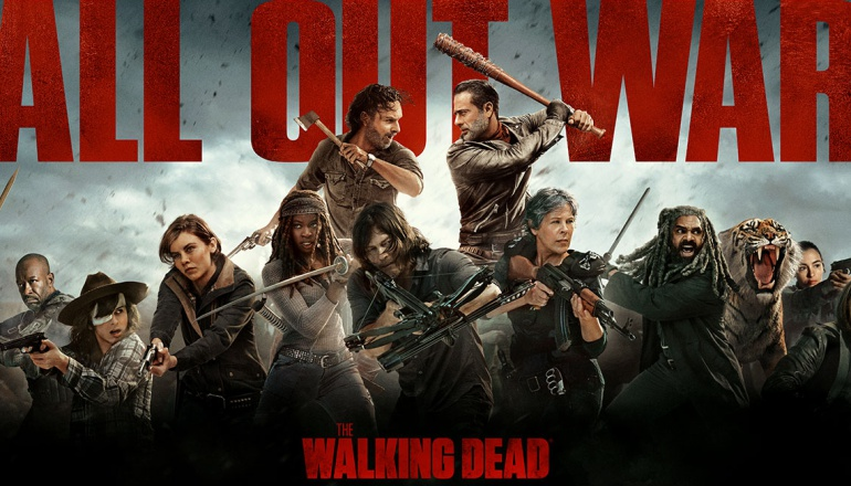 Los protagonistas de la T8 de 'The Walking Dead'
