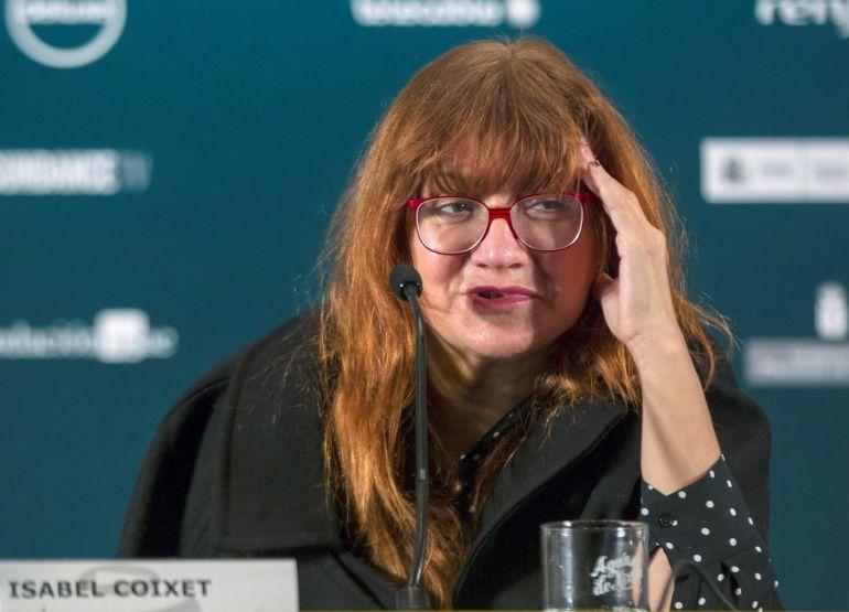 La directora de cine Isabel Coixet, durante la en rueda de prensa que celebró en el Festival Internacional de Cine de Gijón