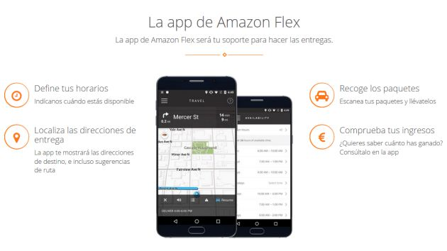 La app definirá los horarios del empleado.