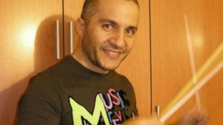 Javier Fernández, batería de Los Piratas.