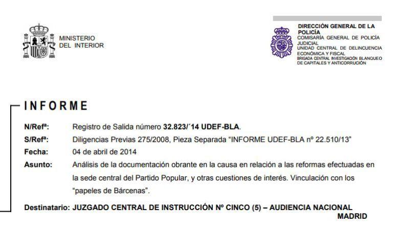 La SER publica los dos informes de la UDEF y el de la IGAE que la Audiencia Nacional ha vetado esta semana a la comisión de investigación del Congreso de los Diputados sobre la presunta financiación ilegal del PP.