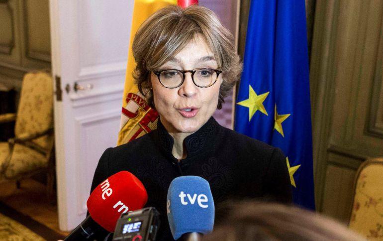 La ministra de Agricultura de España, Isabel García Tejerina