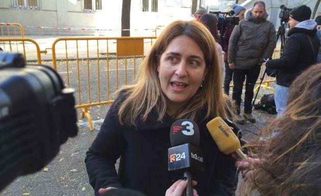Marta Pascal, coordinadora general del PdeCat, en el Supremo