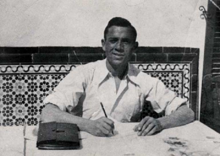 El poeta Miguel Hernández, en una fotografía de archivo.