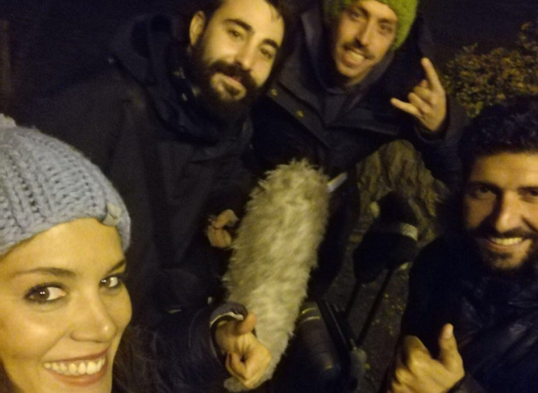 El equipo de 'Aquí tierra' (TVE)