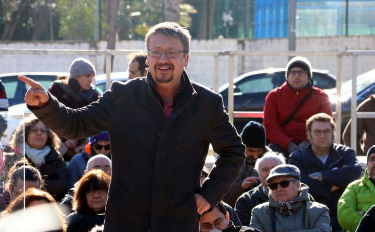 El candidato de Catalunya en Comú-Podem, Xavier Domènech.