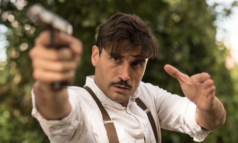 Álex García, protagonista de 'Tiempos de guerra'