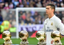 Cristiano, preparado para recibir su quinto Balón de Oro