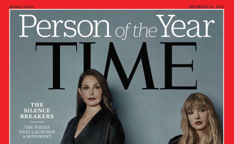 Portada la revista Time.