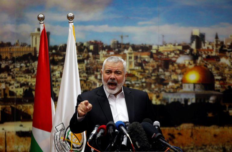 Hamás llama a los palestinos a empezar este viernes una tercera Intifada